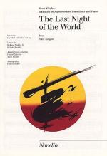 The Last Night Of The World Show Singles Sheet Music