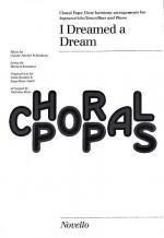 I Dreamed A Dream Choral Pops Sheet Music