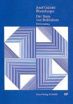 Der Stern von Bethlehem (The star of Bethlehem) (Der Sterne von Bethlehem (L'etoile de Bethleem)) Sheet Music