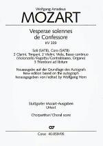 Vesperae solennes de Confessore Sheet Music