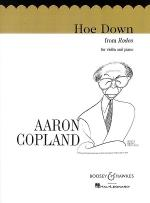 Hoe Down from Rodeo (Violin/Piano) Sheet Music