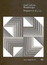 Requiem in d (Requiem in D minor) (Requiem en re mineur) Sheet Music