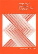 Missa brevis Sti. Joannis de Deo (Kleine Orgelmesse) (Missa brevis Sti. Joannis de Deo en si bemol m Sheet Music
