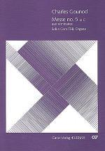Messe breve no. 5 aux seminaires (Messe breve no 5 en ut majeur aux seminaires) Sheet Music