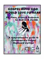 Gospel Riffs God Would Love to Hear Sheet Music