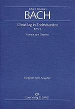 Christ lag in Todesbanden (Christ lay in death's cold prison) (Christ lag in Todesbanden) Sheet Music