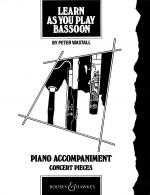 Learn As You Play Bassoon Concert Pieces (pno Accomp) Bn Sheet Music