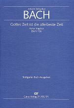 Gottes Zeit ist die allerbeste Zeit (God's own time is the time appointed) Sheet Music
