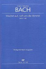 Wachet auf, ruft uns die Stimme (Wake, o wake and hear the voices) Sheet Music