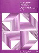 Orgelkonzert Nr. 2 in g (Organ Concerto No. 2 in G minor) (Concerto pour orgue no 2 en sol mineur) Sheet Music