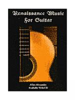 Renaissance Music for Guitar Sheet Music
