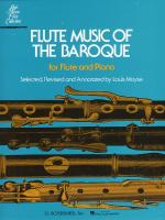 Flute Music Of The Baroque Sheet Music