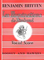 Les Illuminations de Rimbaud, Op. 18 Sheet Music
