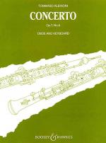 Oboe Concerto Op. 7, No. 6 Sheet Music