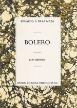 Eduardo Sainz De La Maza: Bolero Sheet Music