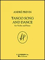 Tango Song and Dance Sheet Music