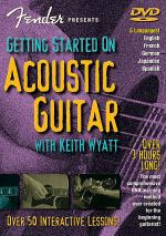 Fender Presents Getting Started on Acoustic Guitar (DVD) Sheet Music