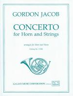 Concerto for Horn & Strings Sheet Music
