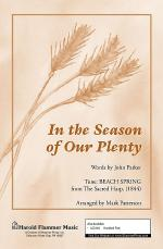 In the Season of Our Plenty Sheet Music