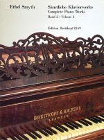 Samtliche Klavierwerke, Heft 2 Sheet Music