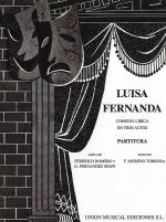 Luisa Fernanda Vocal Score Sheet Music