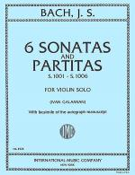 Six Sonatas and Partitas, S. 1001-1006 (for Violin Solo) Sheet Music
