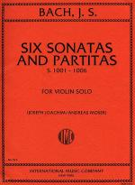 Six Sonatas and Partitas, BWV1001-1006 Sheet Music