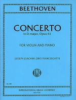 Concerto in D major, Op. 61 (With Cadenzas by Joachim) Sheet Music