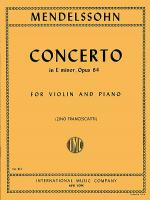 Concerto in E minor, Op. 64 Sheet Music