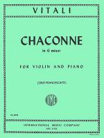 Chaconne in G minor Sheet Music