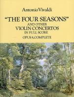 'The Four Seasons' And Other Concertos In Full Score Sheet Music