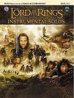 Lord Of The Rings: Instrumental Solos: Violin/Piano Accompaniment (Book/CD) Sheet Music