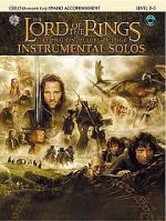 Lord Of The Rings: Instrumental Solos: Cello/Piano Accompaniment (Book And CD) Sheet Music