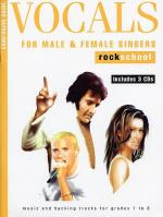 Rockschool Companion Guide - Vocals For Male And Female Singers Sheet Music