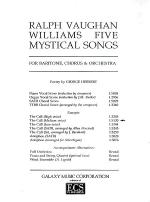 Five Mystical Songs: 1. The Call Sheet Music