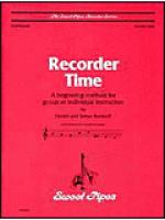 Recorder Time, Book 1 (36 tunes, exercises, fingering charts) Sheet Music