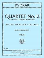 Quartet No. 12 in F major, Opus 96 ('American') Sheet Music