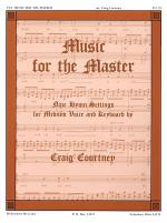 Music for the Master Medium Voice Sheet Music