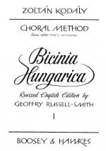 Zoltan Kodaly: Bicinia Hungarica Volume 1 Sheet Music
