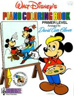 Walt Disney's Piano Coloring Book Sheet Music