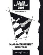 Learn As You Play Oboe (Piano Accompaniment) Sheet Music