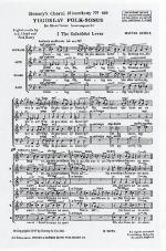 Matyas Seiber: Yugoslav Folksongs Sheet Music