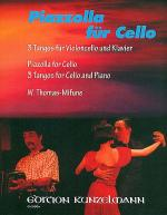 Piazzolla for Cello - 3 Tangos for Cello and Piano Sheet Music