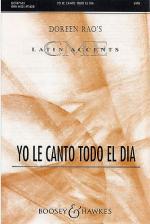 Yo Le Canto Todo El Dia (SATB) Sheet Music