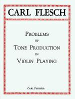 Problems of Tone Production in Violin Playing Sheet Music