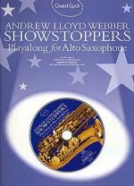Guest Spot: Andrew Lloyd Webber Showstoppers Playalong For Alto Saxophone Sheet Music