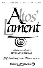 Altos' Lament Sheet Music