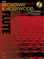 Broadway & Hollywood Classics for Flute Sheet Music