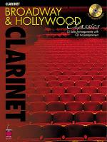 Broadway and Hollywood Classics for Clarinet Sheet Music