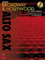 Broadway and Hollywood Classics for Alto Sax Sheet Music